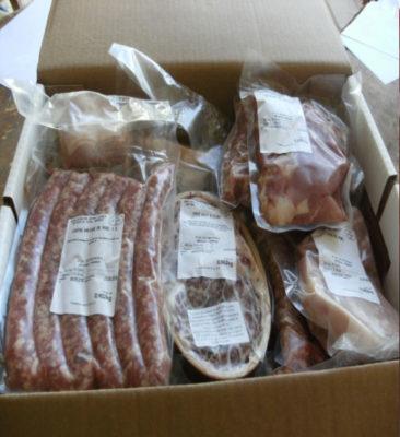 Colis de viande de porc EARL Guiloiseau