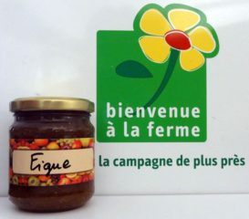 Confiture Figue, confiturerie de l'Ecluse