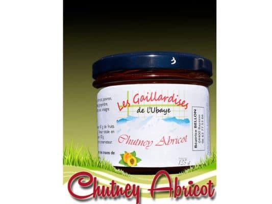 chutney abricot les gaillardises de l'ubaye