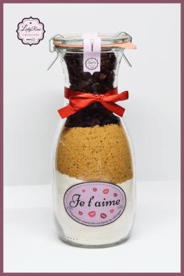 Je t'aime - Préparation cookies bio aux cranberries par Leely Rose Créations