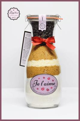 Je t'aime - Préparation cookies pépites de chocolat et coco bio par Leely Rose Créations