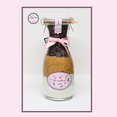La meilleur tata - Préparation cookies pépites de chocolat noir bio par Leely Rose Créations