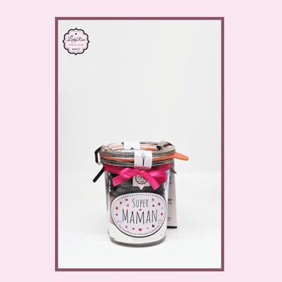 Super Maman - Mini préparation moelleux au chocolat maison bio par Leely Rose Créations