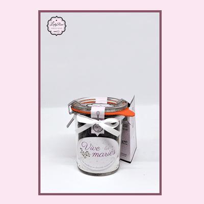Vive les mariés - Mini préparation moelleux au chocolat maison bio par Leely Rose Créations