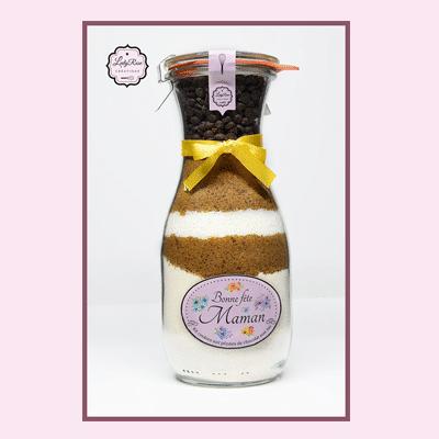 Bonne fête maman - Préparation cookies bio aux pépites de chocolat et coco par Leely-Rose Créations