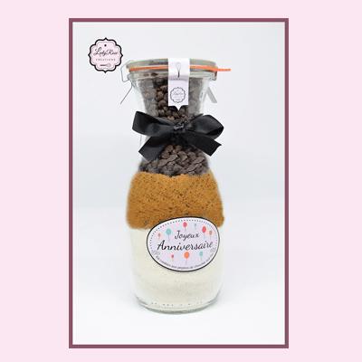 Joyeux anniverssaire - Préparation cookies pépites de chocolat noir bio par Leely Rose Créations