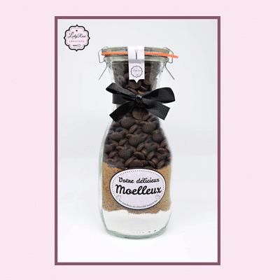 Moelleux au chocolat maison bio par Leely Rose Créations